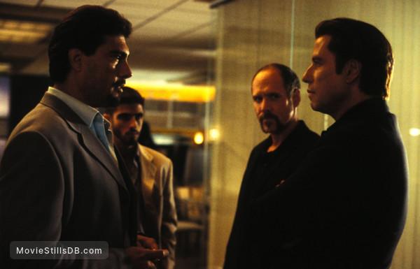 The Punisher - Publicity still of Eduardo Yáñez, Will Patton & John Travolta