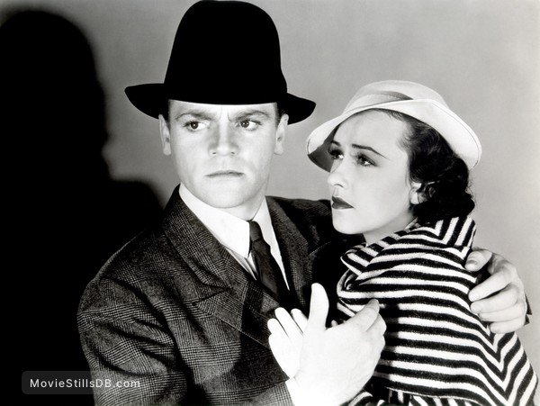 'G' Men - Promo shot of James Cagney & Margaret Lindsay