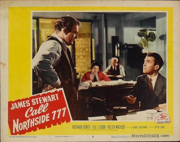 Call Northside 777 - Lobby card