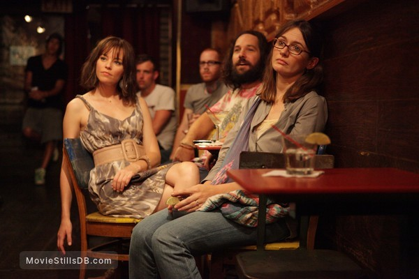 Our Idiot Brother - Publicity still of Elizabeth Banks, Paul Rudd & Emily Mortimer