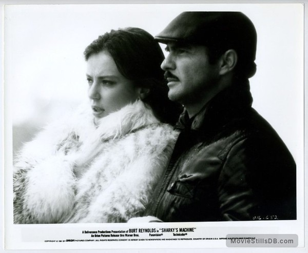 Sharky's Machine - Publicity still of Rachel Ward & Burt Reynolds
