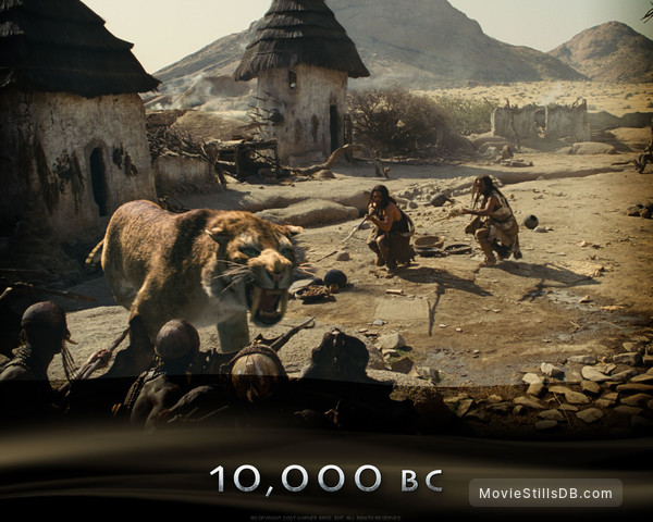 10,000 BC - Wallpaper with Steven Strait & Cliff Curtis