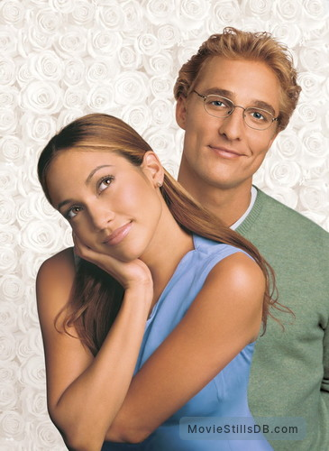 The Wedding Planner - Promo shot of Jennifer Lopez & Matthew McConaughey