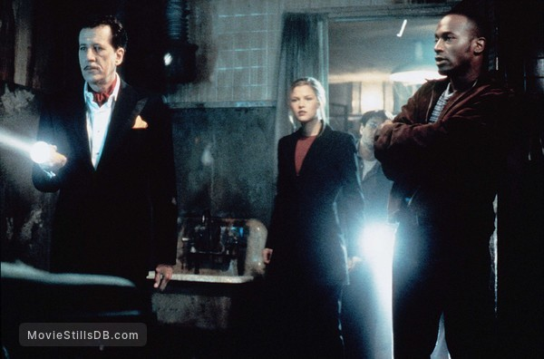 House On Haunted Hill - Publicity still of Geoffrey Rush, Chris Kattan & Taye Diggs
