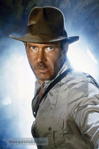 Raiders of the Lost Ark - Promo shot of Harrison Ford