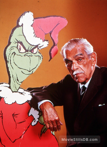 How the Grinch Stole Christmas! - Promo shot of Boris Karloff