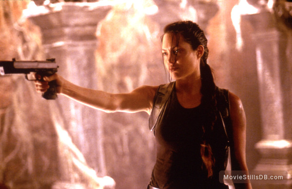 Lara Croft: Tomb Raider - Publicity still of Angelina Jolie