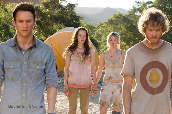 The Ruins - Publicity still of Jonathan Tucker, Jena Malone, Laura Ramsey & Shawn Ashmore