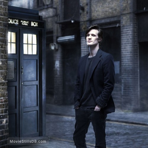 Doctor Who - Promo shot of Matt Smith