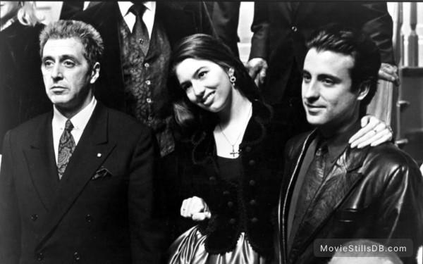 The Godfather: Part III - Publicity still of Al Pacino, Andy García & Sofia Coppola