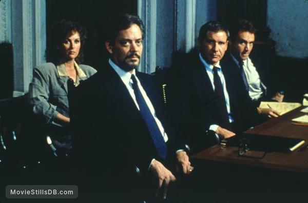 Presumed Innocent   Publicity Still Of Harrison Ford, Bonnie Bedelia, Raúl  Juliá U0026 Bradley