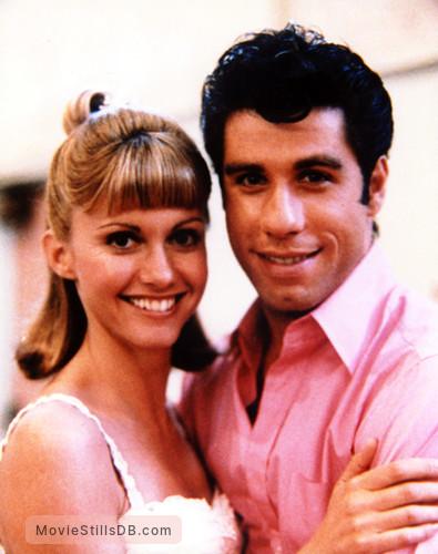 Grease - Promo shot of John Travolta & Olivia Newton-John