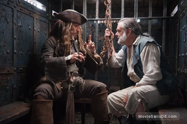 Pirates of the Caribbean: On Stranger Tides - Publicity still of Johnny Depp & Kevin McNally