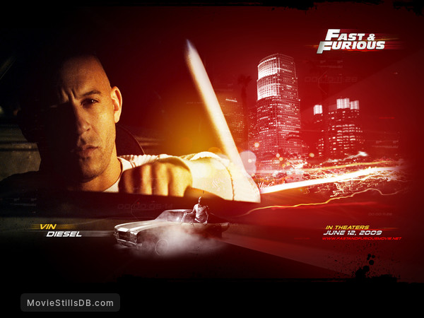 Fast & Furious - Wallpaper with Vin Diesel