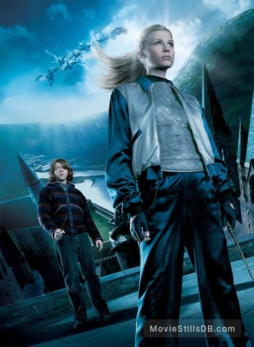 Harry Potter and the Goblet of Fire - Promotional art with Clémence Poésy & Rupert Grint