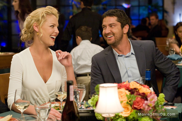 The Ugly Truth - Publicity still of Katherine Heigl & Gerard Butler