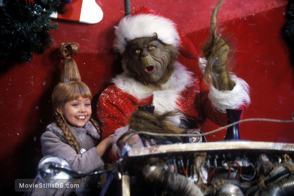 the Grinch Stole Christmas - Publicity still of Jim Carrey ...