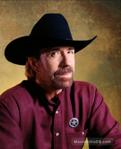 Walker, Texas Ranger - Promo shot of Chuck Norris