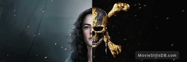 Pirates of the Caribbean: Dead Men Tell No Tales - Promotional art with Kaya Scodelario