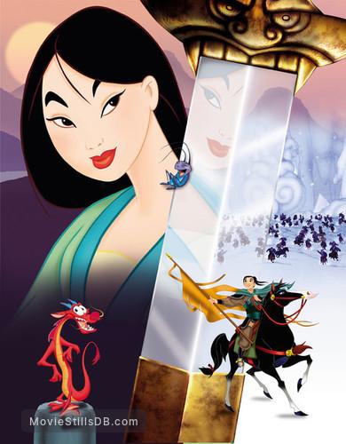Mulan - Promotional art