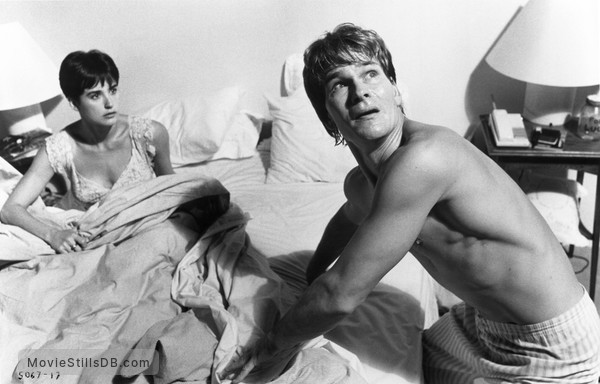 Ghost - Publicity still of Patrick Swayze & Demi Moore