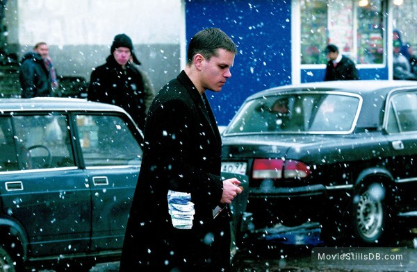 The Bourne Supremacy - Publicity still of Matt Damon