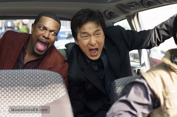 Rush Hour 3 - Publicity still of Chris Tucker & Jackie Chan