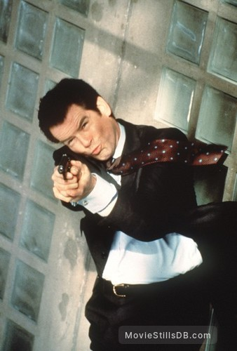 Tomorrow Never Dies - Publicity still of Pierce Brosnan