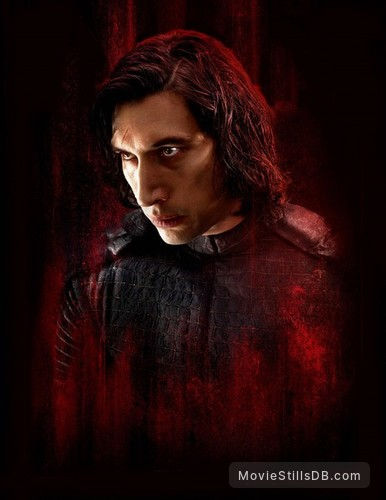 Star Wars: The Last Jedi - Promotional art with Adam Driver