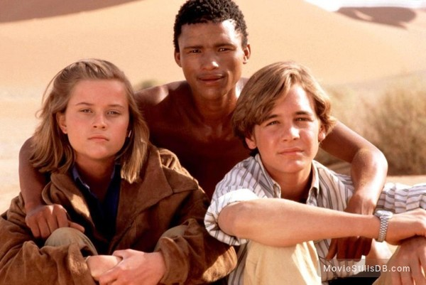 A Far Off Place - Promo shot of Reese Witherspoon, Sarel Bok & Ethan Embry