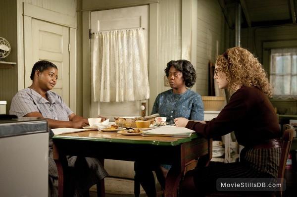 The Help - Publicity still of Octavia Spencer, Viola Davis & Emma Stone