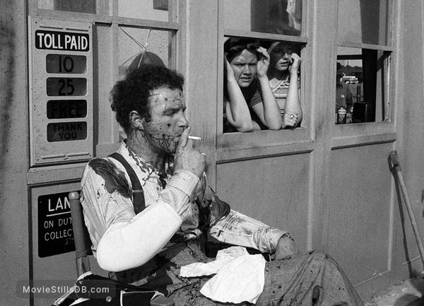 The Godfather - Behind the scenes photo of James Caan