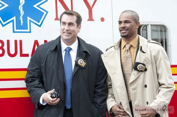 The Other Guys - Publicity still of Rob Riggle & Damon Wayans Jr.