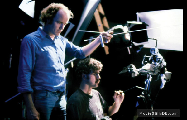 Star Wars: Episode VI - Return of the Jedi - Behind the scenes photo of Phil Tippett