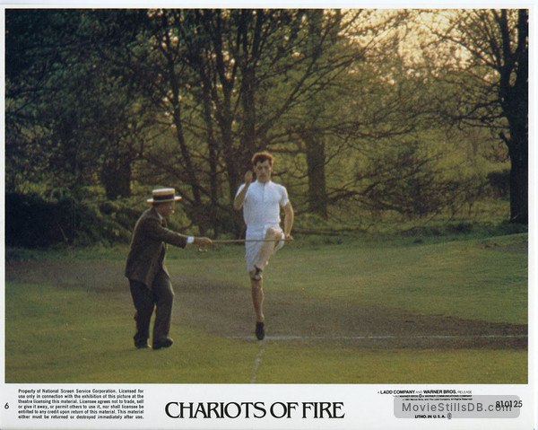 Chariots of Fire - Lobby card with Ian Holm & Ben Cross