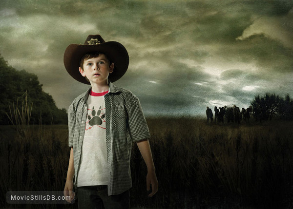 The Walking Dead - Promo shot of Chandler Riggs