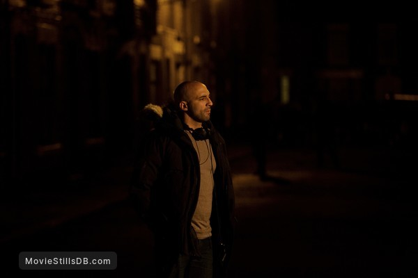 '71 - Behind the scenes photo of Yann Demange