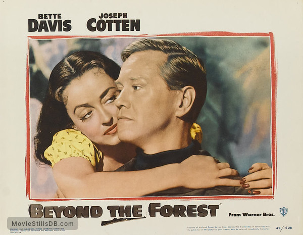 Beyond the Forest - Lobby card with Bette Davis & David Brian