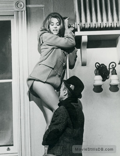 Barefoot in the Park - Publicity still of Jane Fonda & Charles Boyer