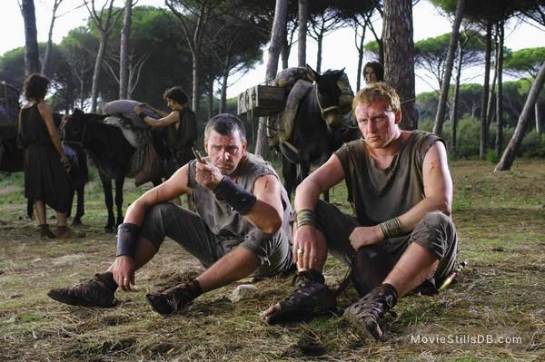 Rome - Publicity still of Kevin McKidd & Ray Stevenson