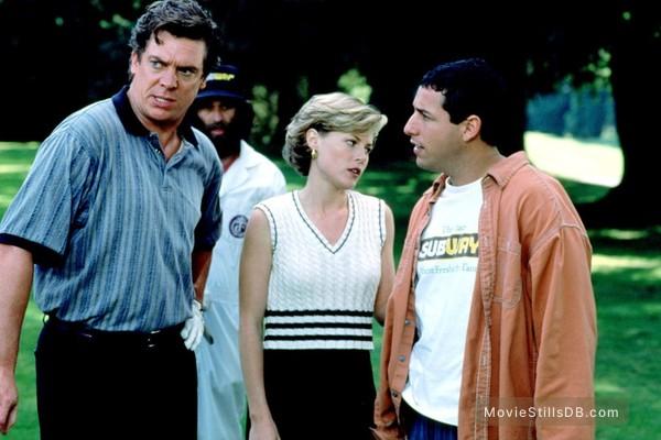 Happy Gilmore - Publicity still of Julie Bowen, Christopher McDonald & Adam Sandler