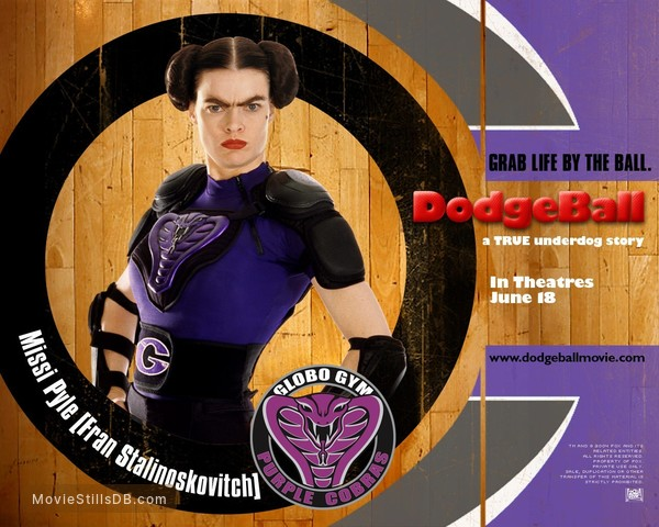 Dodgeball: A True Underdog Story - Wallpaper with Missi Pyle