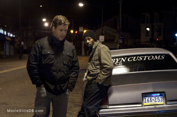 The Next Three Days - Publicity still of Russell Crowe & RZA