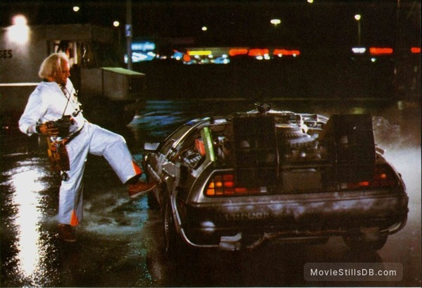 Back to the Future - Publicity still of Christopher Lloyd