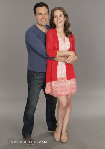 A Cookie Cutter Christmas - Promo shot of Erin Krakow & David Haydn-jones