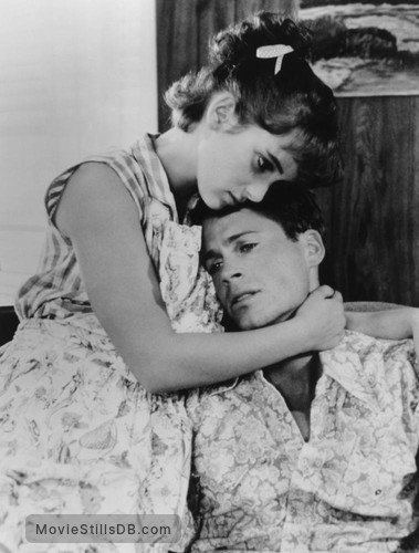 Square Dance - Publicity still of Winona Ryder & Rob Lowe