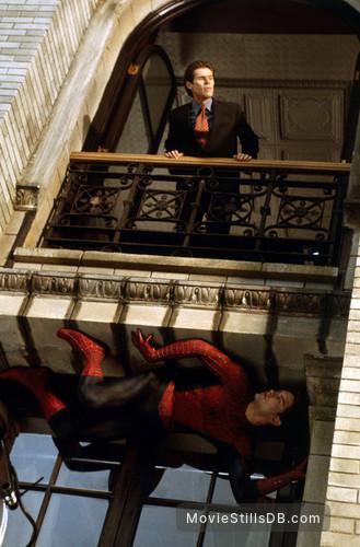Spider-Man - Publicity still of Willem Dafoe & Tobey Maguire