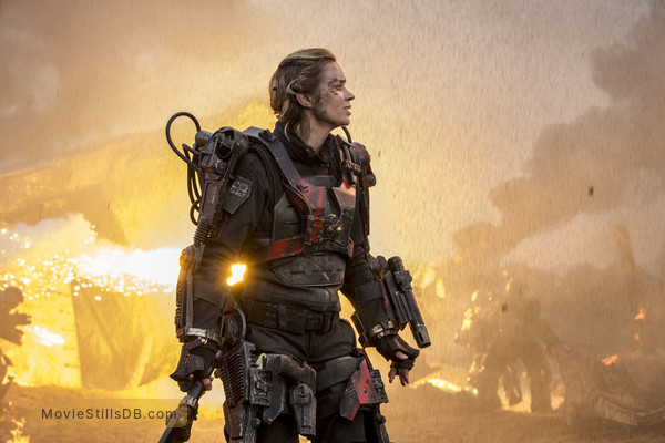 Edge of Tomorrow - Publicity still of Emily Blunt