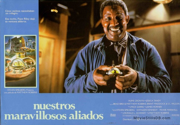 *batteries not included - Lobby card with Frank McRae