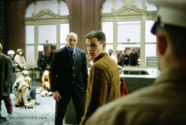 The Bourne Identity - Publicity still of Matt Damon